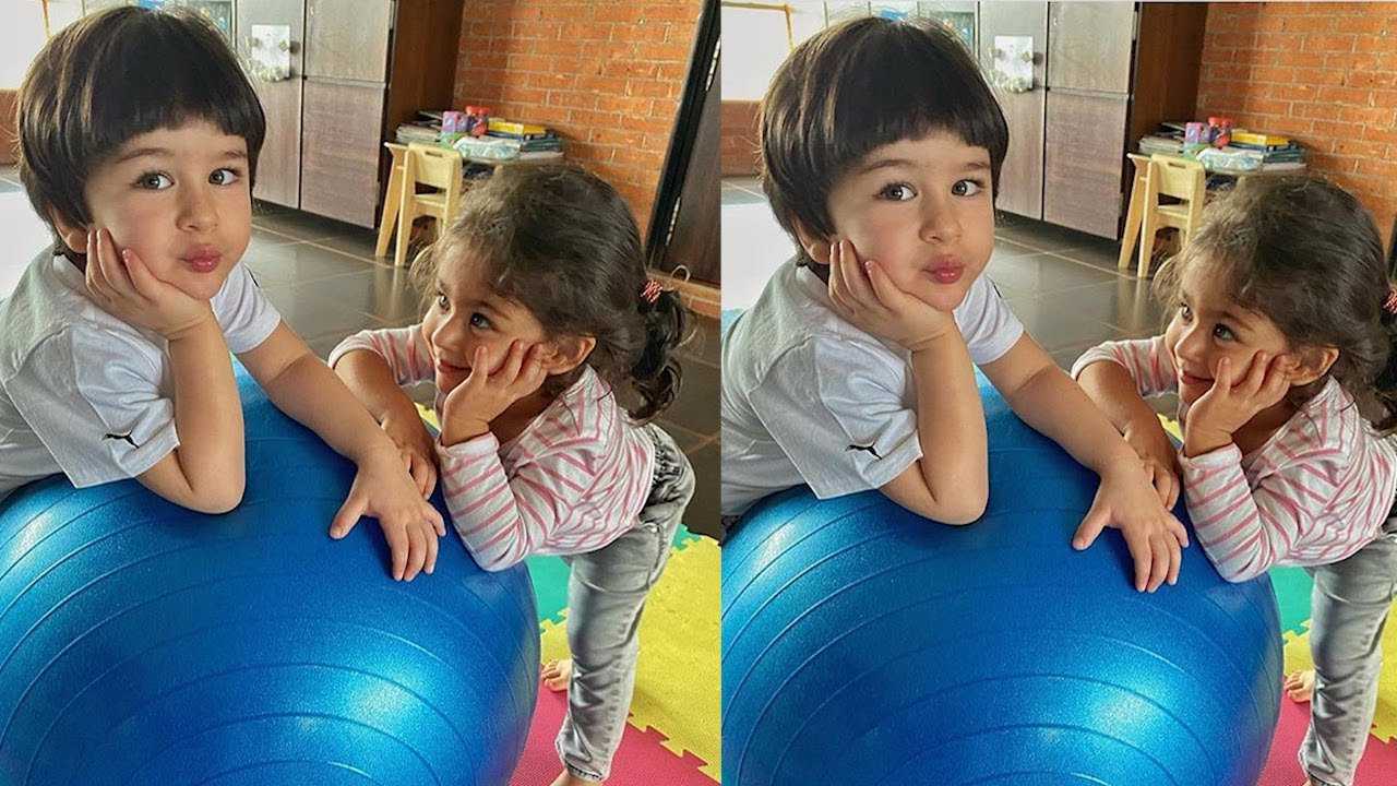 Taimur Ali Khan & Inaaya Khemu Celebrating Raksha Bandhan Check Out This Cute Moments Of Them