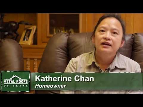 Review Metal Roofs of Texas Katherine Chan Testimonial