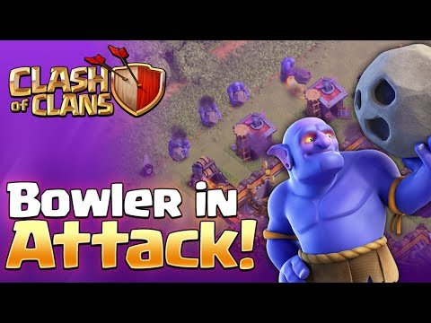 Clash of Clans - THE BOWLER! New Troop Gameplay!
