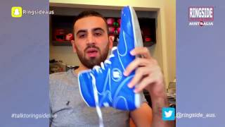 Talk to Ringside Live - Episode 8. Features of a good boxing shoe