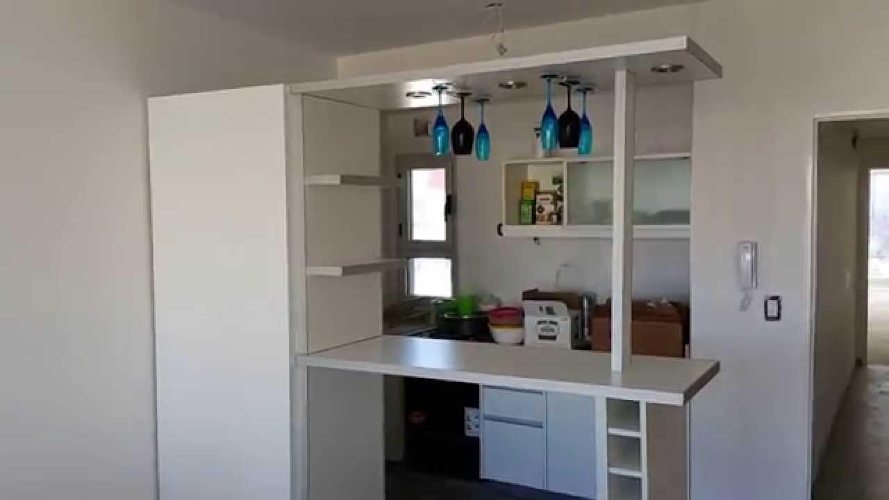Desayunadores barras divisor separador de ambientes for Separadores cajones cocina