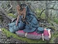 Wild camping 1800s woods man style