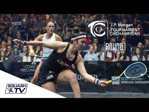 Squash: Tournament of Champions 2018 - Women's Rd 1 Roundup [Pt.2]