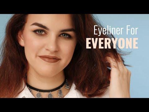 Eyeliner technique for every eye shape