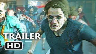 PS4 - World War Z Gameplay Trailer (2018)