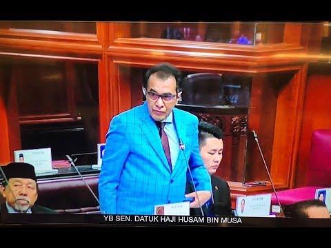 TERBAIK !! Perbahasan Rang Undang - Undang Kewangan Oleh YB Senator Haji Husam Musa