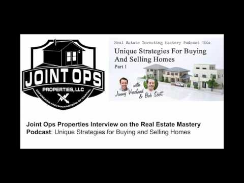 Joint Ops Properties Interview on the Real Estate Mastery Podcast