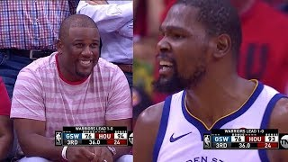 Kevin Durant Trash Talks Chris Paul's Brother, Both Exchange Words! Warriors vs Rockets thumbnail