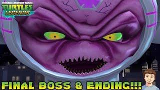 TMNT Legends - ENDING - FINAL BOSS KRAANG PRIME!!!