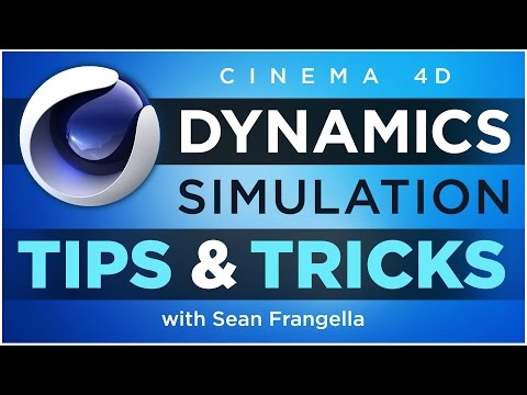 Cinema 4D Dynamics Simulation Tips & Tricks - Rigid Body & Soft Body Dynamics Tutorial
