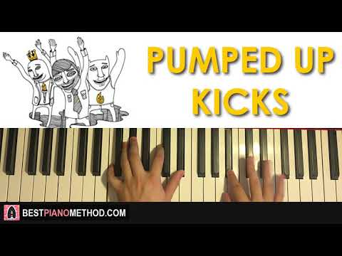 HOW TO PLAY - Foster The People - Pumped Up Kicks (Piano Tutorial Lesson)