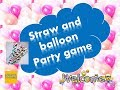 Very unique Balloon and straw game for couple kitty or club parties