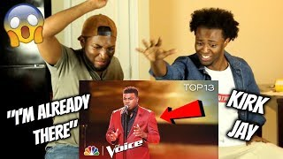 """Kirk Jay Performs """"I'm Already There"""" - The Voice 2018 Live Top 13 Performances"""