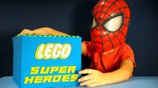 Игрушки Lego Super Heroes обзор на русском языке. Лего СуперГерои Минифигурки(, 2015-08-11T09:04:27.000Z)