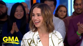 Emilia Clarke on her 'Game of Thrones' character becoming a Halloween favorite l GMA
