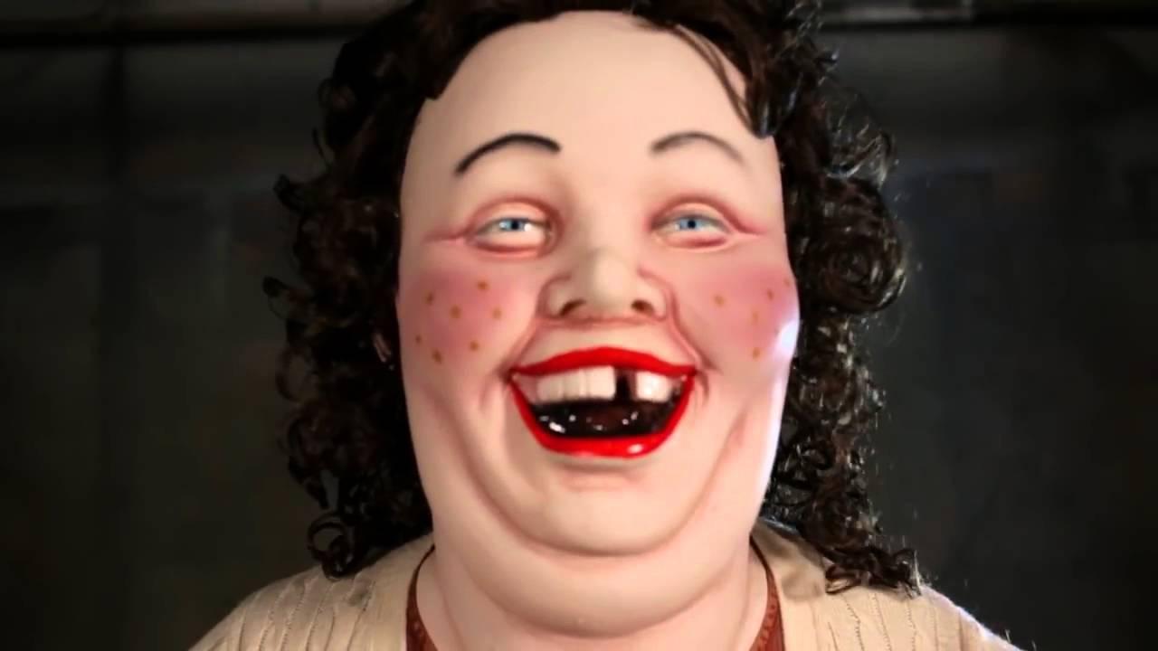 Sally Laughing Woman Animatronic Halloween Prop - Youtube-3227