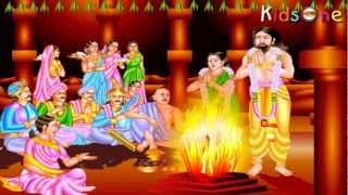 Indian Heroes - Jhansi Lakshmi Bai Life History In Telugu - with Animation