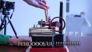 La Machine à Vapeur - Principe, Préparation et Démo