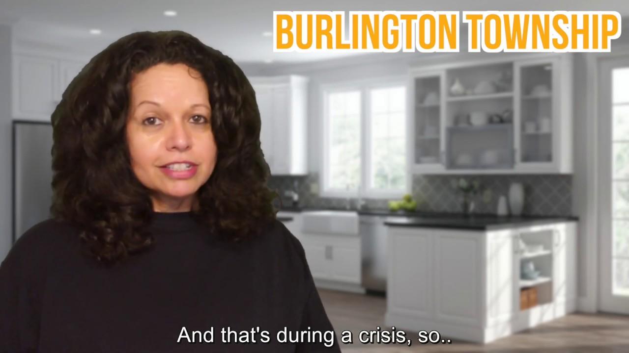 Market Minute Real Estate Update -  Burlington Twp -  April 2020 - 5-28-20