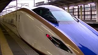 JR東日本:E7系 あさま613号 熊谷駅入線~発車 2017.10.13