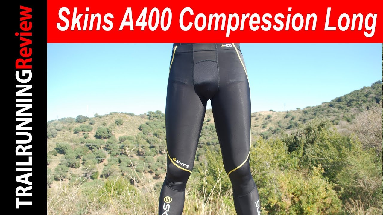 d4f6ee38058 Skins A400 Compression Long Tights Review - YouTube