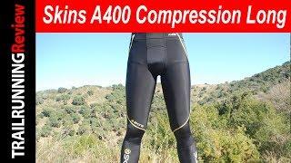 SKINS A400 starlight men/'s long tights