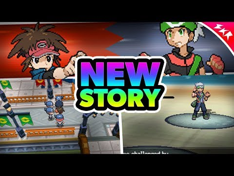 Pokemon NDS Rom Hack With A Brand New Story | Featuring Hoenn Region | Gameplay & Download | SKR