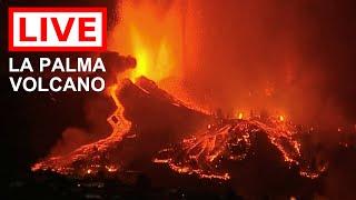 LIVE: La Palma Volcano Eruption, the Canary Islands (Feed #2) 1012