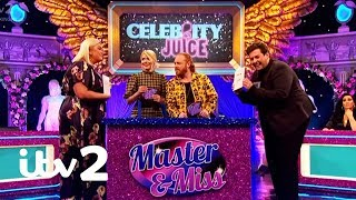 Gemma Collins and Arg Play Master and Miss   Celebrity Juice   ITV2