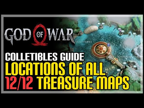 God of War All Treasure Map Locations & Dig Spots