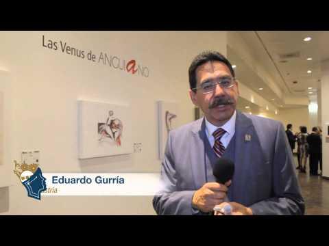 """Exposición """"Las Venus de Anguiano"""" en el Grand Hotel Tijuana"""