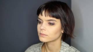 Pokaz fryzur - modelka Monika