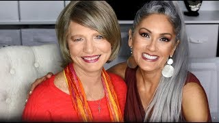50 YEAR REUNION MAKEUP | Detailed Tutorial With Bloopers!