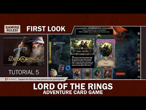 Lord of the Rings - Adventure Card Game - First Look - Tutorial 5 thumbnail