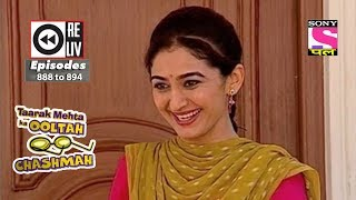 Weekly Reliv - Taarak Mehta Ka Ooltah Chashmah - 30th Dec, 2017  to 5th Jan, 2018 - Ep 888 to 894
