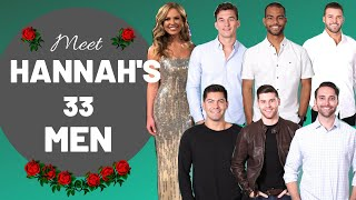 Meet Hannah's Men: The Bachelorette