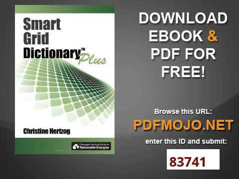 Smart Grid Dictionary Plus Go Green with Renewable Energy Resources