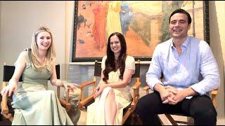 GABRIEL'S RAPTURE On-Set Interview - Melanie Zanetti, Giulio Berruti, Passionflix