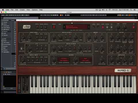 Music Production with Repro-5  (12-17)