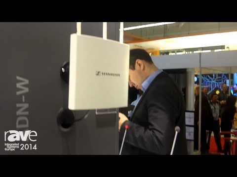ISE 2014: Sennheiser Electronic Introduces the New Wireless Extension of ADN Conference System