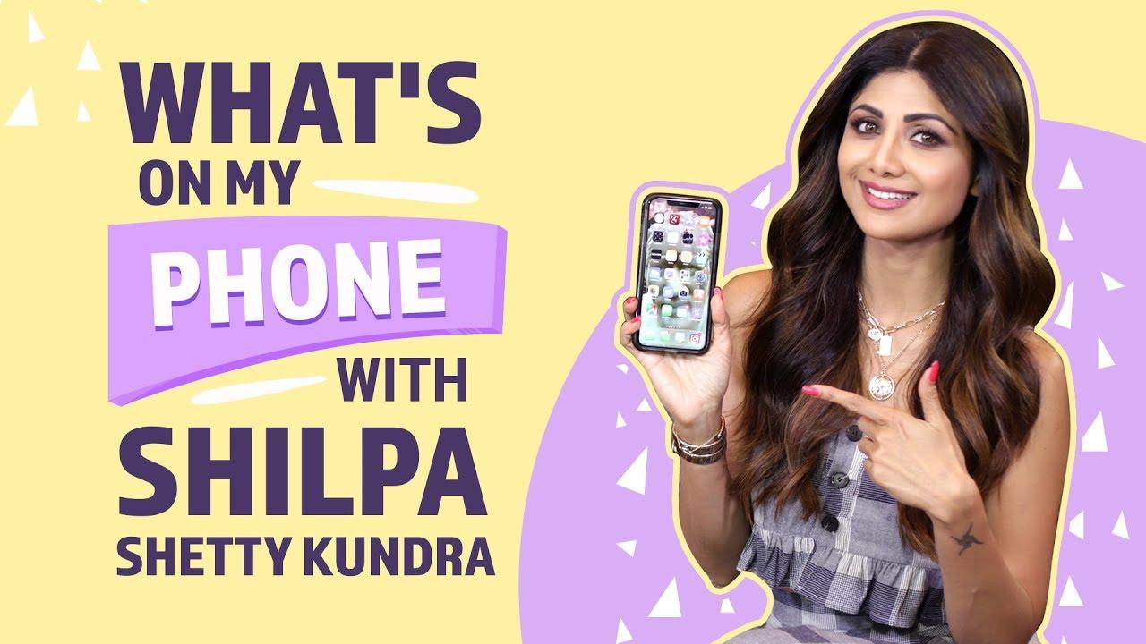 Shilpa Shetty : What's on my phone | Pinkvilla | Bollywood | Lifestyle | Fashion