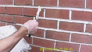 brick pointing matching 50 year old motor