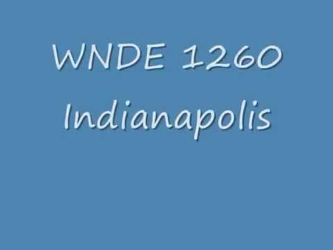 WNDE 1260 Indianapolis IN 1979  Joe Fedele