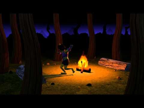 3DS Max - Fire Scene