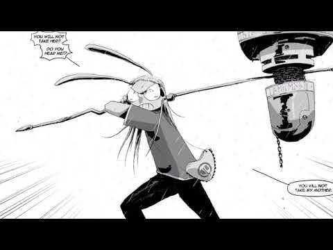 I Kill Giants trailer (graphic novel)