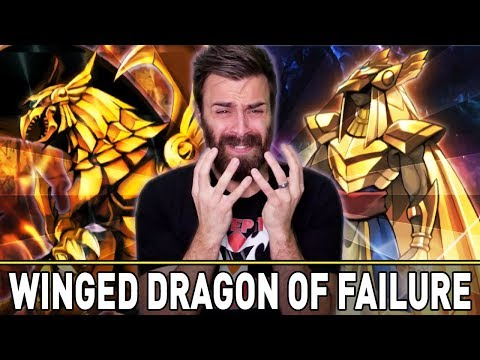 WINGED DRAGON OF RA FAILURE | YuGiOh Duel Links PVP Mobile & Steam  w/ ShadyPenguinn
