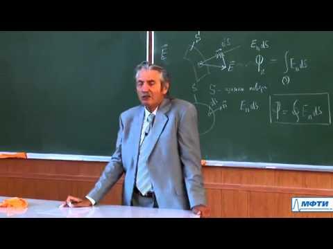 Лекция 2.1. Теорема Гаусса