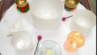Alchemy Crystal Singing Bowls with Bernadette Yao, live recording 10-16-16