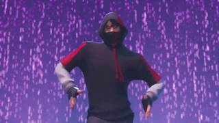 Fortnite Galaxy iKONIK Skin + Scenario Emote Trailer