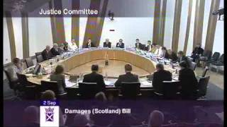 Insurance lawyers tell Scottish Parliament Asbestos related pleural plaques are good for you